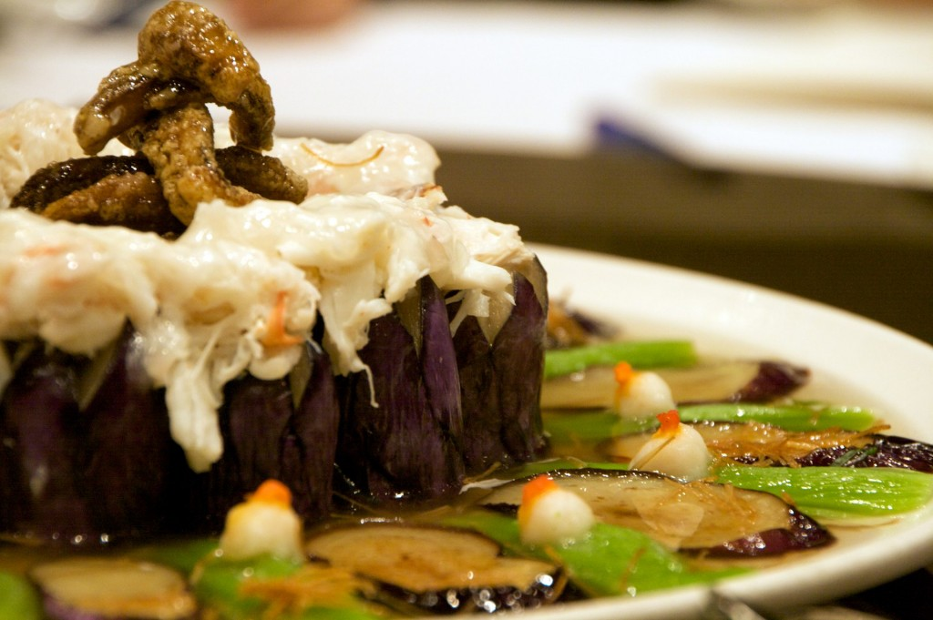 Crab-Stuffed Eggplant